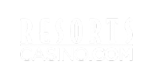 resorts casino logo white